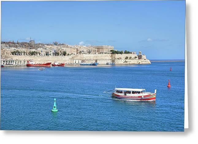 Valletta - Malta Greeting Card by Joana Kruse