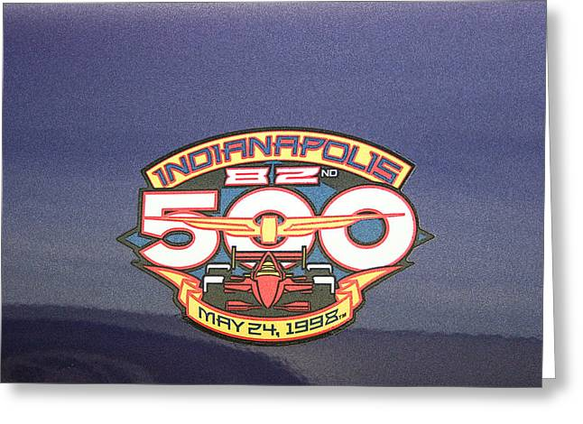 82nd Indianapolis 500 Greeting Card by Darrell Foster