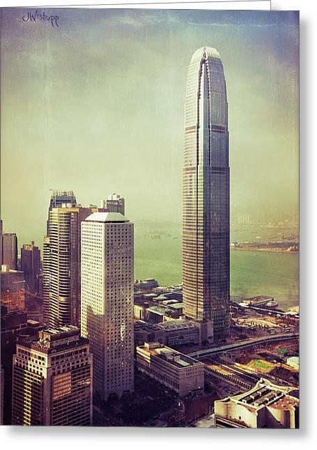 88 Floors Greeting Card by Joseph Westrupp