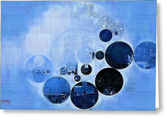 Abstract Painting - Skating Greeting Card by Vitaliy Gladkiy