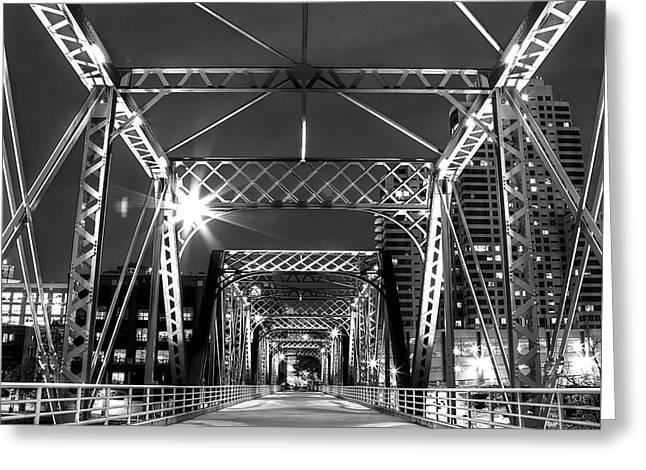 Blue Bridge Greeting Card by Twenty Two North Photography