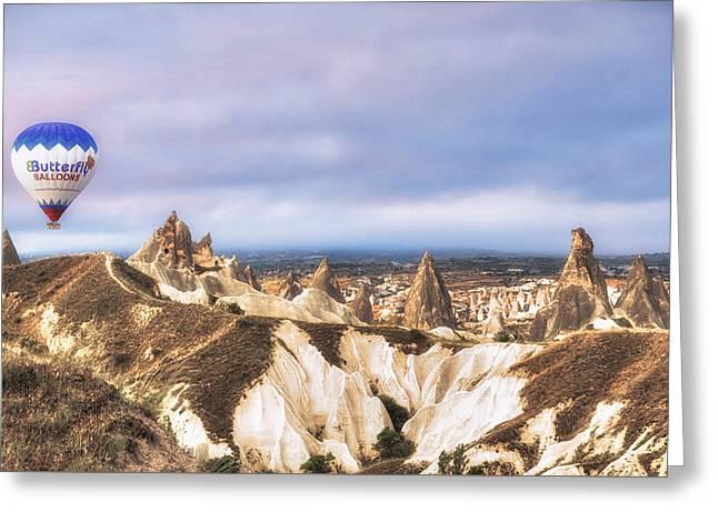 Cappadocia - Turkey Greeting Card by Joana Kruse