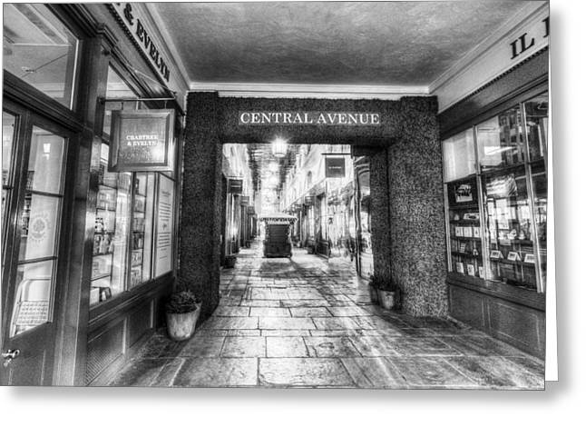 Covent Garden London  Greeting Card by David Pyatt