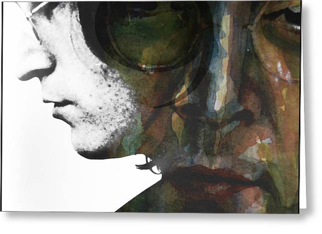 #9 Dream Greeting Card by Paul Lovering