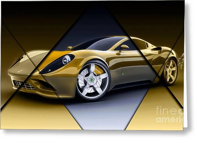 Ferrari Collection Greeting Card