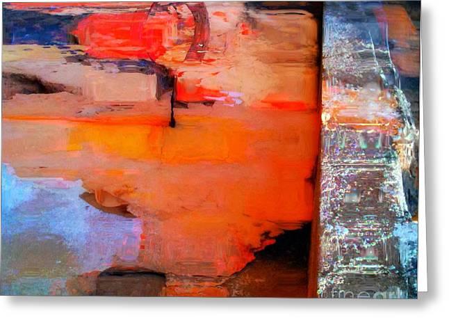 Goree Texture - Exploring Greeting Card by Fania Simon
