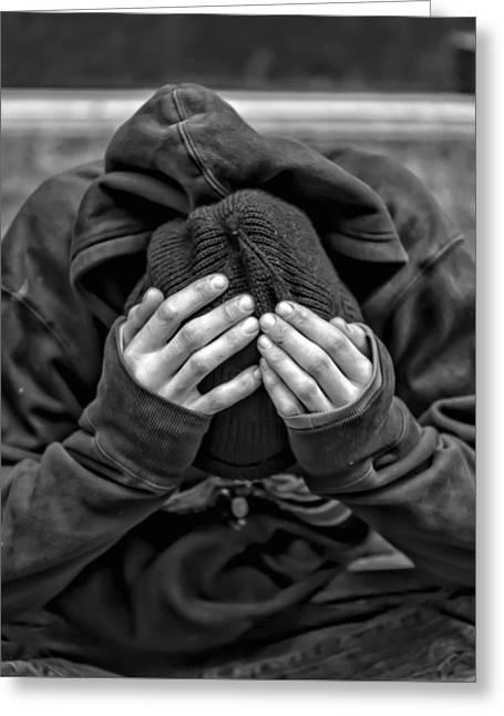 Homeless Greeting Card
