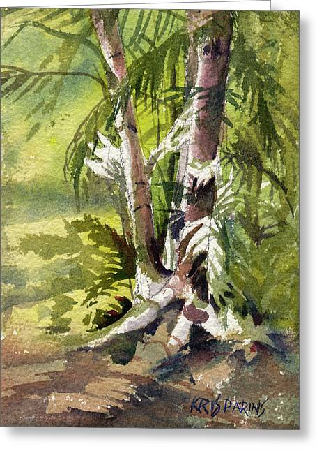 It's A Jungle Out There Greeting Card by Kris Parins