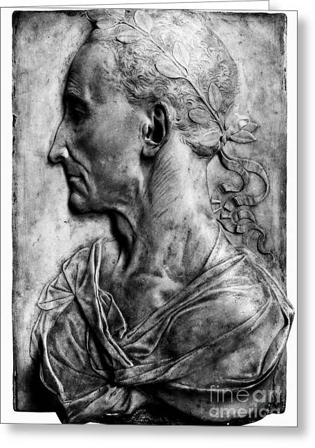 Julius Caesar (100-44 B.c.) Greeting Card by Granger