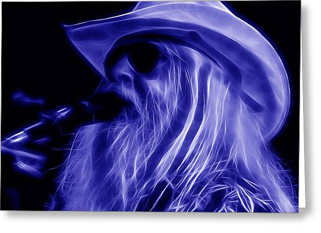 Leon Russell Collection Greeting Card