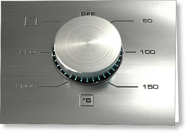 Modern Oven Closeups Greeting Card