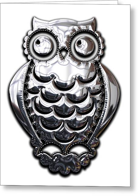 Owl Collection Greeting Card
