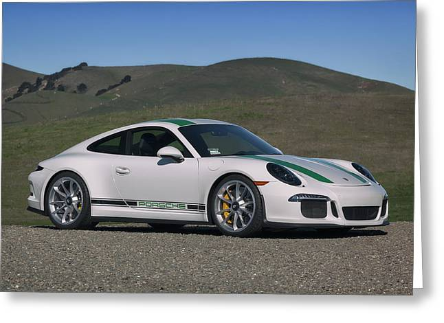 #porsche #911r #print Greeting Card