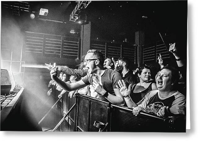 Uk Foo Fighters Live @ Edinburgh Greeting Card