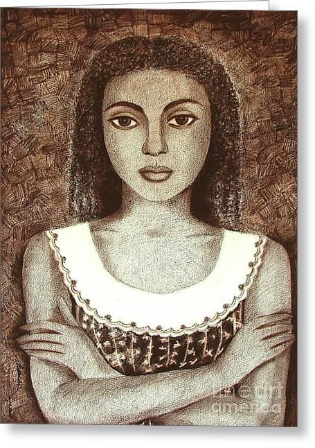 Untitled Greeting Card by Padmakar Kappagantula