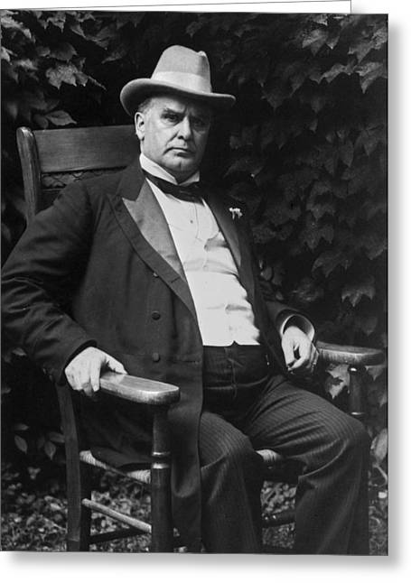 Republican Greeting Cards - WILLIAM McKINLEY (1843-1901) Greeting Card by Granger