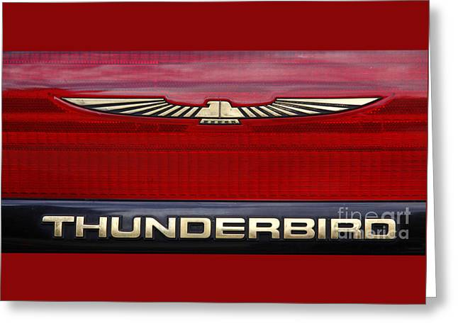 90s Thunderbird Greeting Card