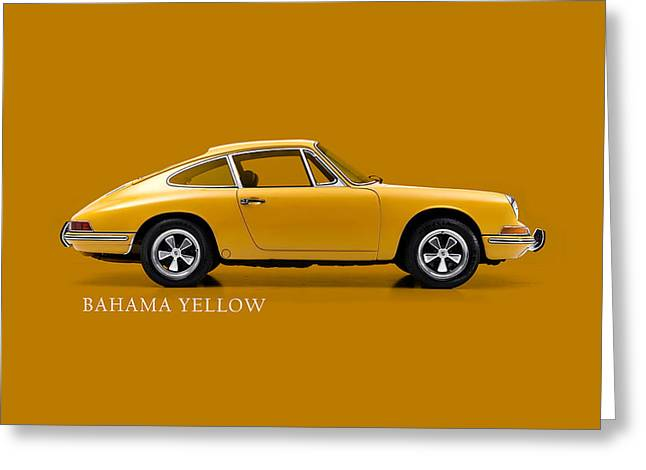 911 Bahama Yellow Phone Case Greeting Card