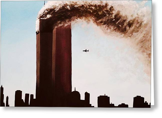 911 Greeting Card by Carla Keck