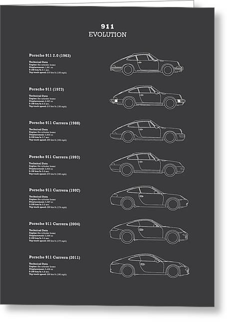 911 Evolution Greeting Card by Mark Rogan