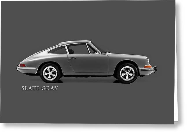 911 Grey Phone Case Greeting Card