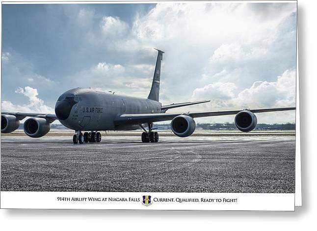 914th Airlift Wing Greeting Card