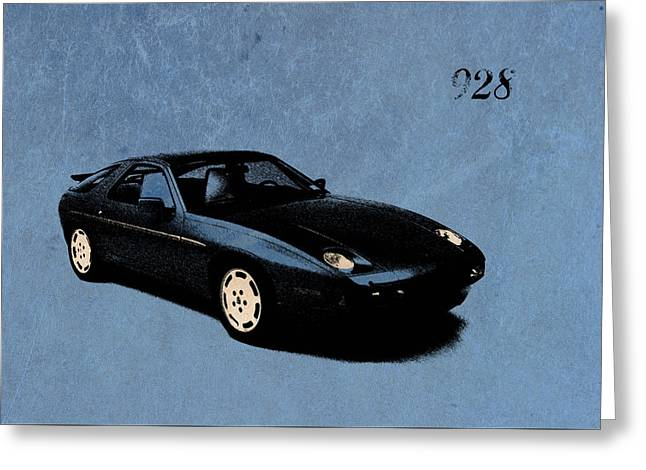 928 Greeting Card by Mark Rogan