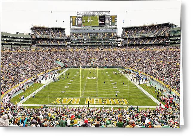 9993 Lambeau Field Greeting Card