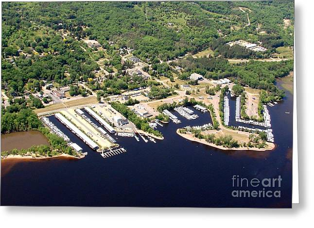 Greeting Card featuring the photograph A-008 Afton Harbors 2 Minnesota by Bill Lang