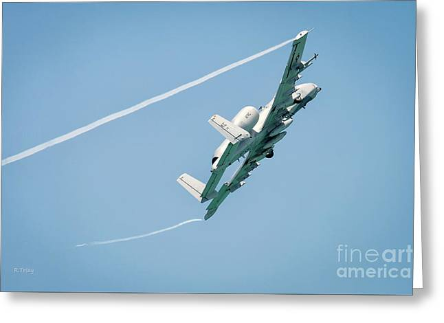A-10 Thunderbolt II Hog Greeting Card