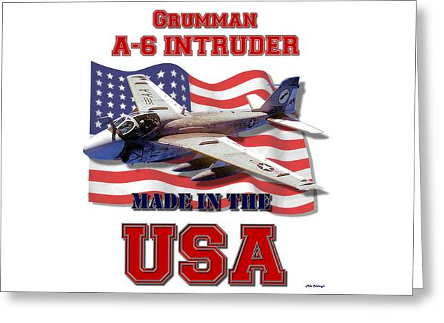 A-6 Intruder Made In The Usa Greeting Card