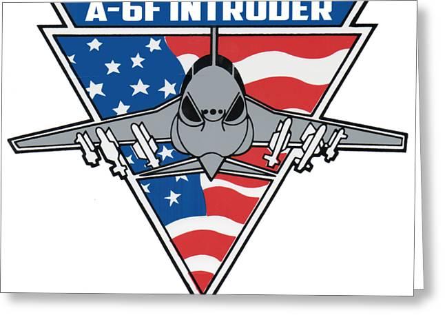 A-6f Intruder Greeting Card