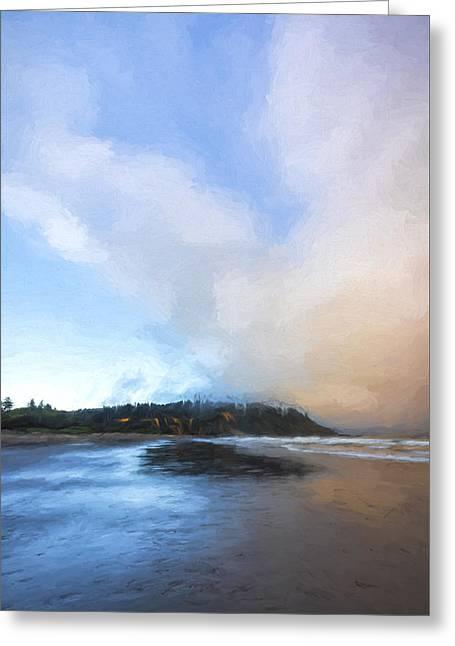 A Beach Like This II Greeting Card by Jon Glaser