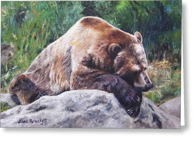 A Bear Of A Prayer Greeting Card