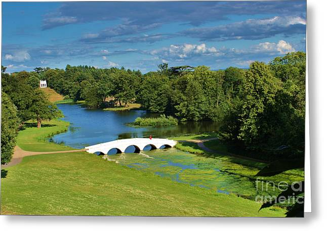 A Beautiful British Landscape Greeting Card