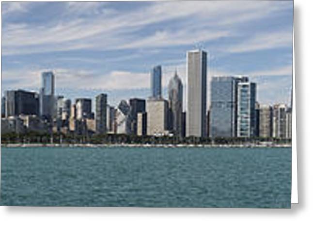 A Beautiful Day In Chicago Greeting Card