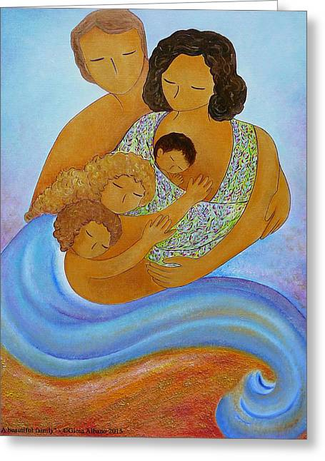 A Beautiful Family Greeting Card by Gioia Albano