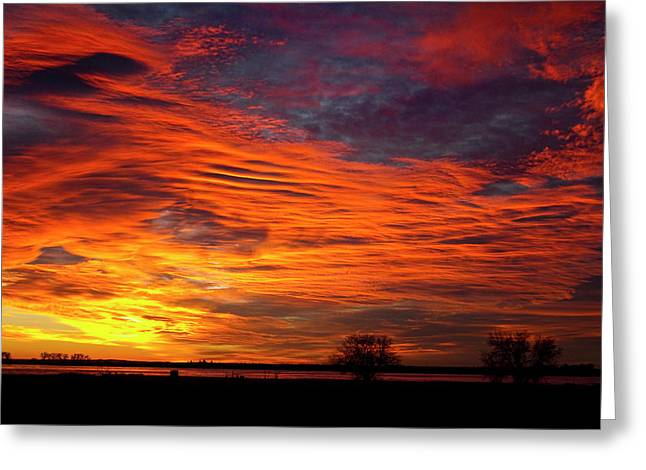 A Beautiful Valentines Sunrise Image Photo Greeting Card by James BO  Insogna