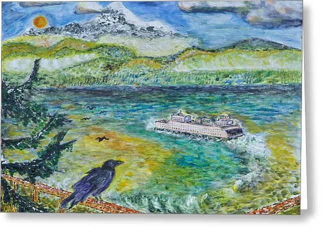 A Bird's Eye View Greeting Card