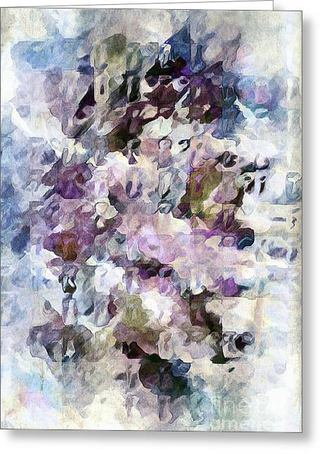 Greeting Card featuring the digital art A Bit Worn But Beautiful by Margie Chapman
