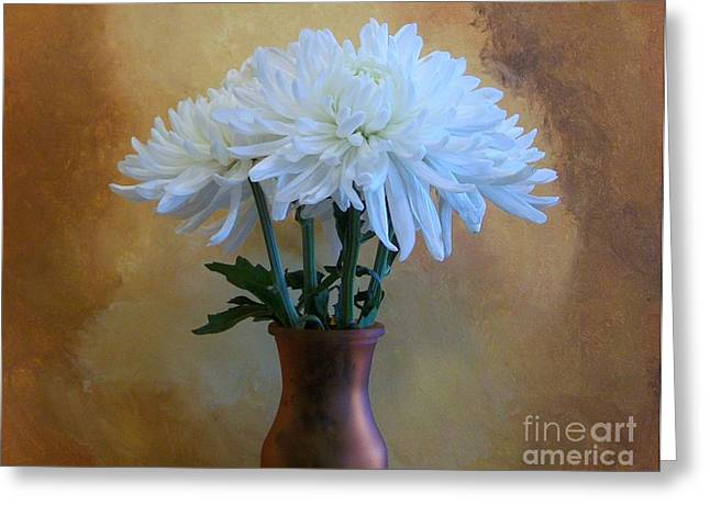A Bouquet For Mummy Greeting Card by Marsha Heiken