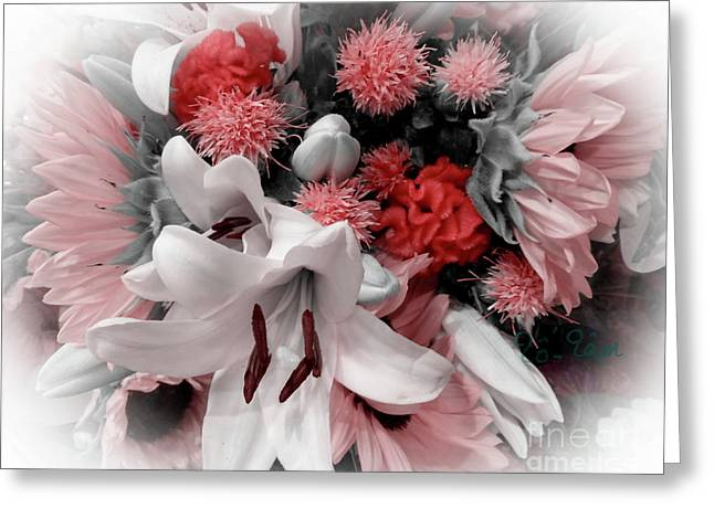A Bouquet For My Love 37 Greeting Card