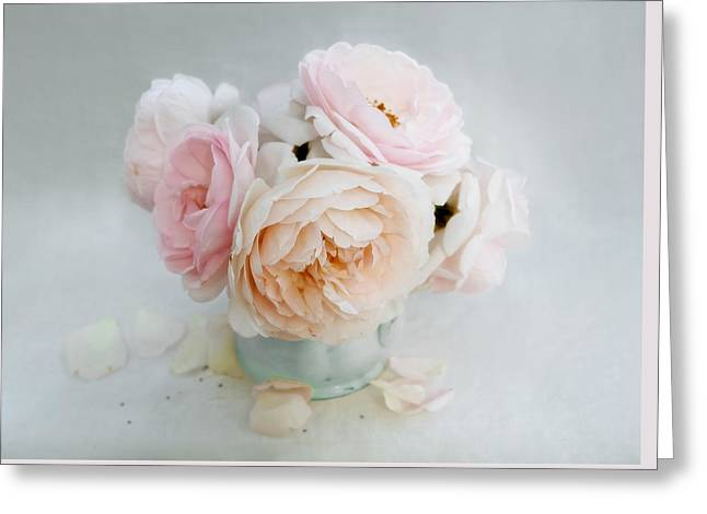 A Bouquet Of June Roses Greeting Card