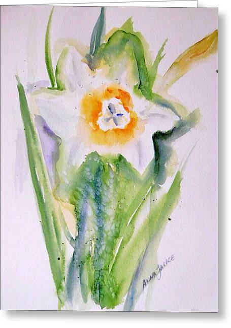 A Breath Of Spring Greeting Card