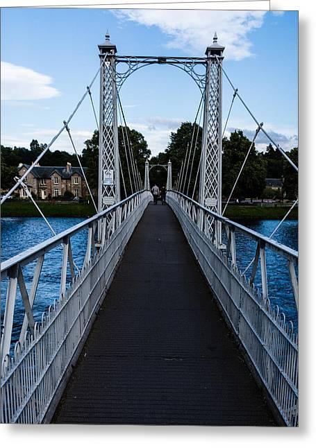 A Bridge For Walking Greeting Card