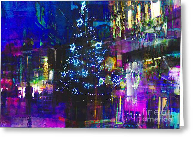 Greeting Card featuring the photograph A Bright And Colourful Christmas by LemonArt Photography