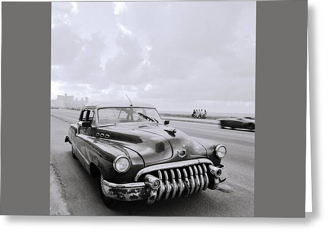 A Buick Car Greeting Card
