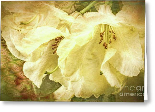 Greeting Card featuring the photograph A Bunch Of Birthday Wishes by Jean OKeeffe Macro Abundance Art
