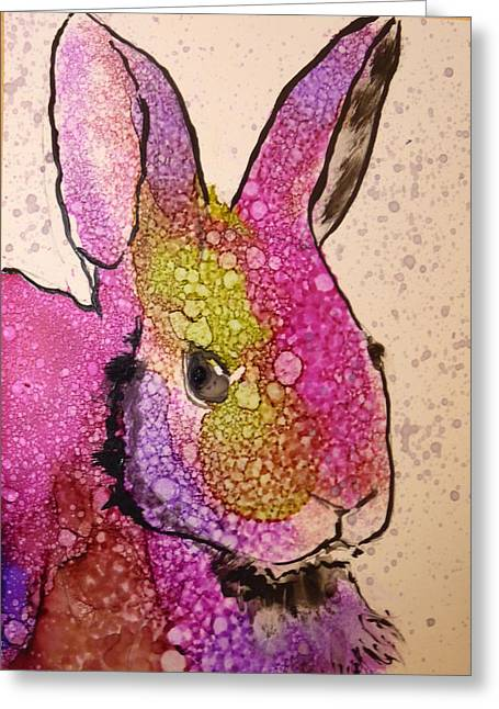 A Bunny Raggitt Greeting Card