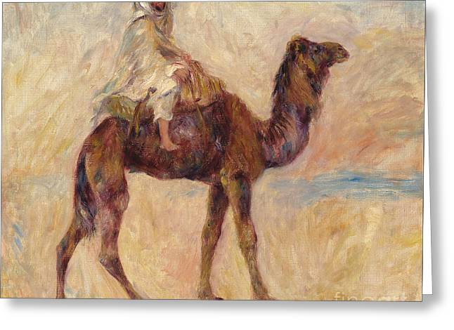A Camel Greeting Card by Pierre Auguste Renoir